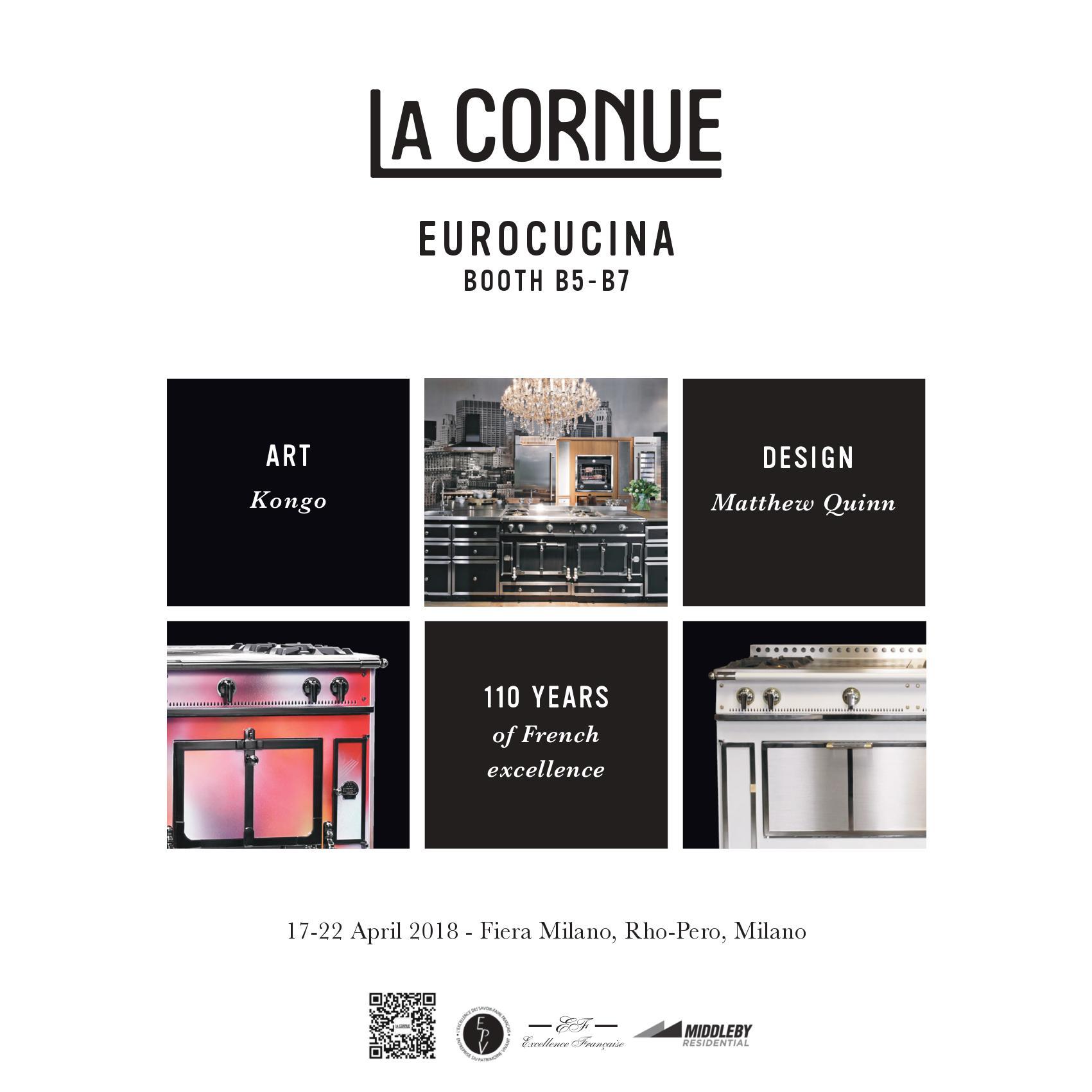 La Cornue Eurocucina 2018