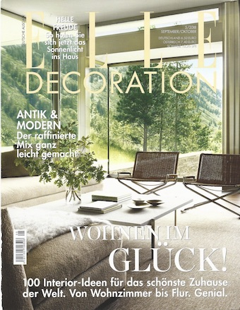 Elle Decoration Oktober titel klein