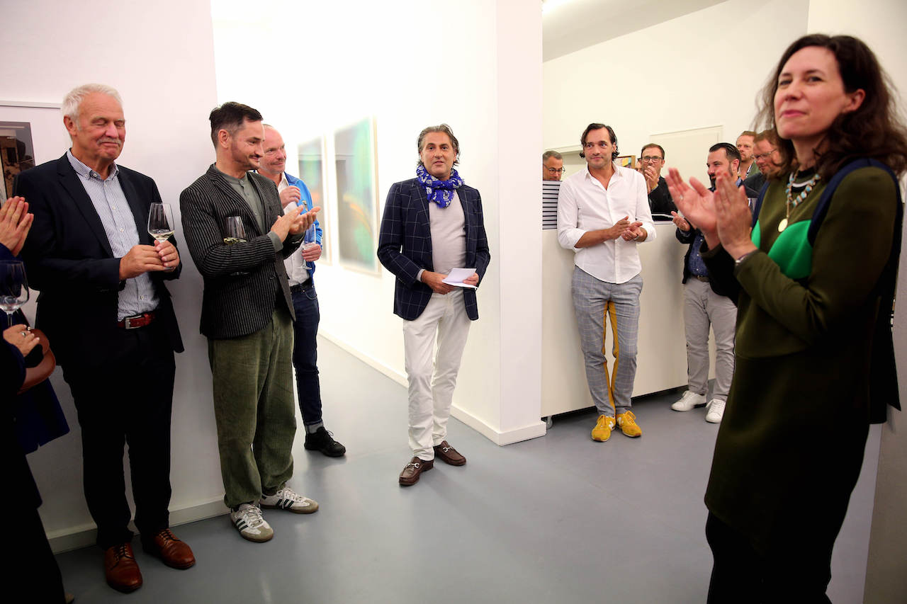 "MUNICH, GERMANY - SEPTEMBER 17: Interiordesigner Peter Buchberger and Branko Jovic during the book launch of ""Peter Buchberger - Wohndesign"" by Peter Buchberger on September 17, 2019 in Munich, Germany. (Photo by Gisela Schober/Getty Images for Peter Buchberger)"