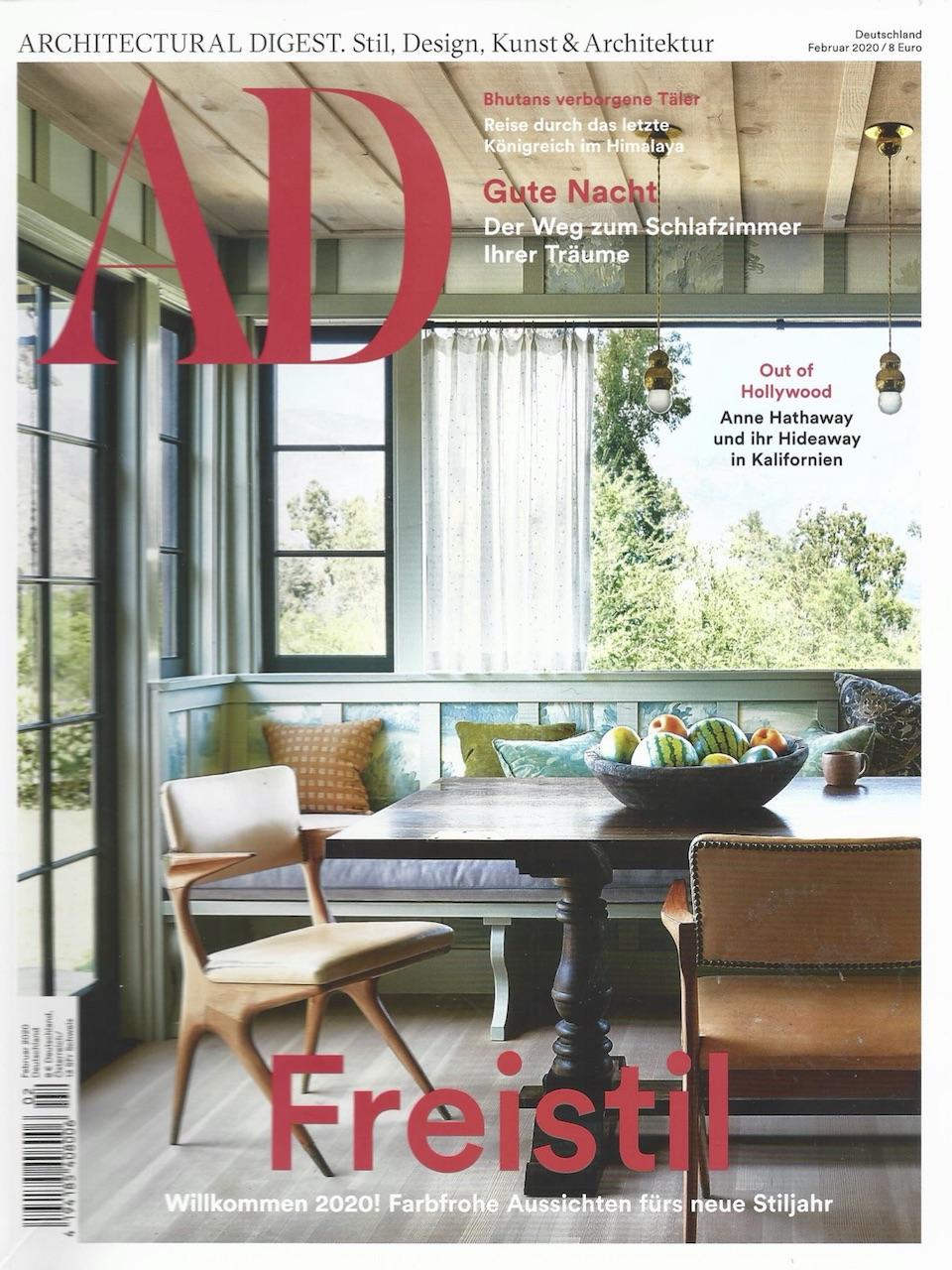 Architectural Digest Februar 1