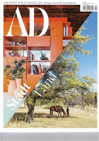 Architectural Digest March cover Kopie