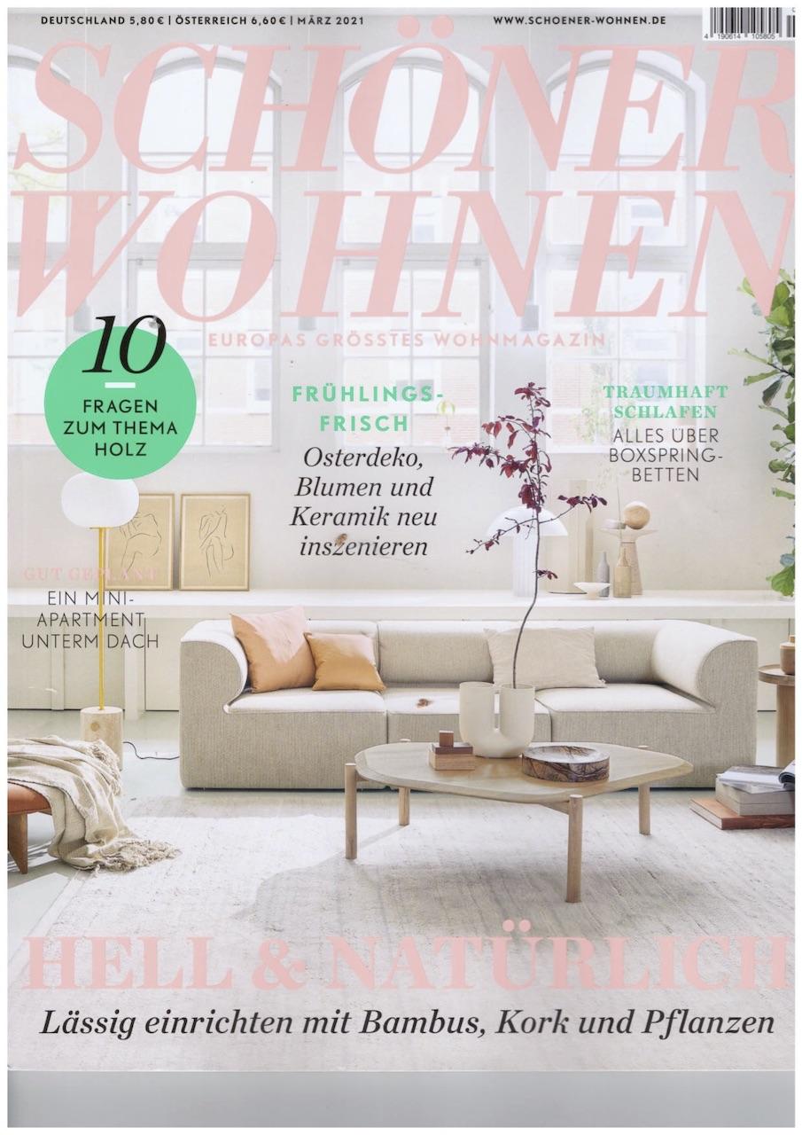 Schöner Wohnen März cover
